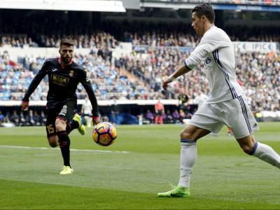 Cristiano ,  contra l'Espanyol el curs passat