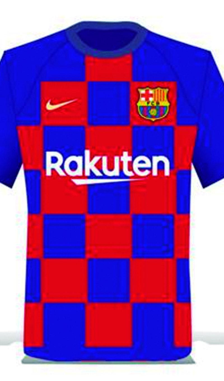 El disseny de la samarreta del Barça per a la temporada que ve L ESPORTIU. 737f348dd00