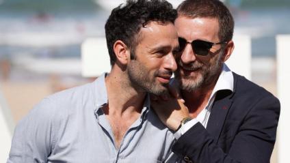 El director Rodrigo Sorogoyen i l'actor Antonio de la Torre van presentar 'El reino'.