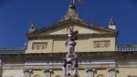 3de10fm carregat per la Colla Jove dels Xiquets de Tarragona en la diada castellera de Santa Tecla