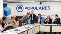 El líder del PP, Pablo Casado, en una imatge d'arxiu