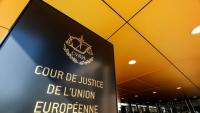 Entrada del Tribunal de Justícia de la UE a Luxemburg