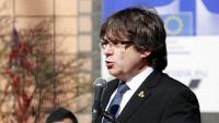 Puigdemont, ahir, amb Valtònyc, davant la Comissió Europea