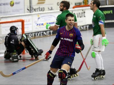 Pascual celebra un gol