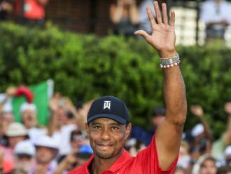 El somriure renascut en el rostre de Tiger Woods