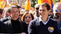 """Rivera: """"Amb Valls els constitucionalistes podem tornar a guanyar Barcelona"""""""