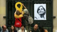 Acte de suport a Carme Forcadell, el setembre passat a Sabadell
