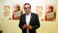 Josep Rull en un foto d'arxiu del desembre passat per a una entrevista durant la campanya electoral