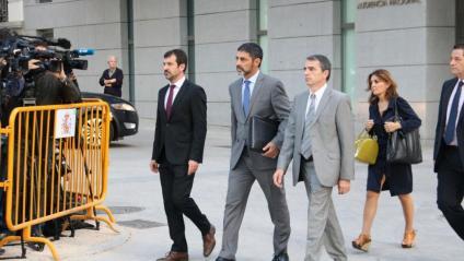 L'AN activa el judici  als Mossos
