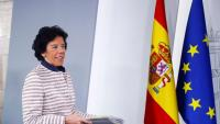 La portaveu Celaá, al final del Consell de Ministres que va enviar el quadre pressupostari a Brussel·les