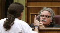 Tardà pregunta a Podemos com actuarien si tinguessin Pablo Iglesias empresonat