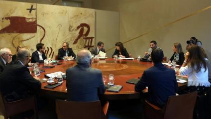 La reunió setmanal del Consell Executiu