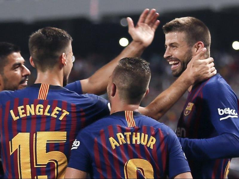 Lenglet i Piqué només han estat titulars junts en quatre partits dels onze oficials, i només en tres han completat els noranta minuts. En l'altre, el francès va ser expulsat contra el Girona