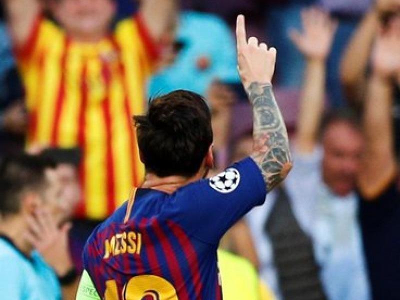 Leo Messi ja suma 11 gols aquesta temporada, entre lliga (6) i Champions (5). 8 els ha fet al Camp Nou, on el Barça juga els tres propers partits, contra el Sevilla, l'Inter i el Madrid