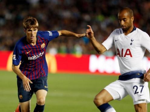 Barça-Tottenham el passat estiu en la gira nord-americana