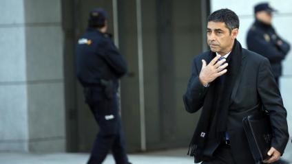 El major dels Mossos, Josep Lluís Trapero, anant a declarar a l'Audiencia Nacional