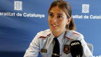 Mayte Saval, del Grup Regional d'Atenció a la Víctima dels Mossos d'Esquadra a Tarragona