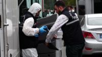 Membres de la policia científica turca arriben al domicili oficial del cònsol saudita a Istanbul