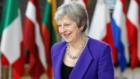 La primera ministra britànica, Theresa May, a Brusel·les