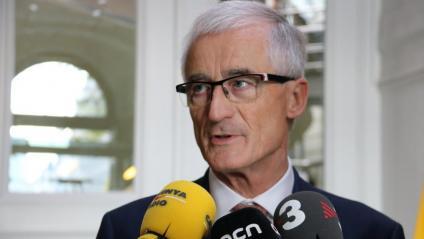 El ministre-president de Flandes, Geert Bourgeois