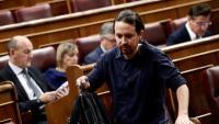 El líder de Podem, Pablo Iglesias, al Congrés