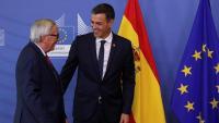 El president espanyol, Pedro Sánchez, ahir dimecres a Brusel·les