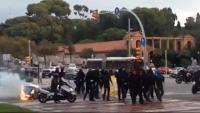 Protesta a la Diagonal
