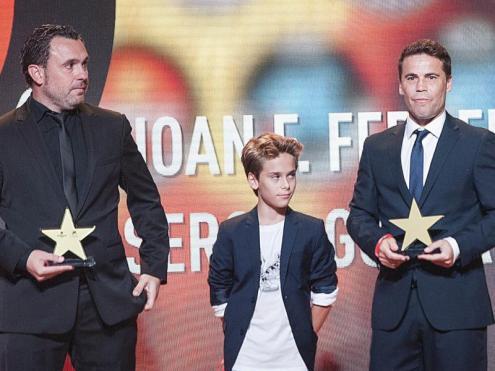 Sergio González i Joan Francesc Ferrer, 'Rubi', han rebut el premi 'ex aequo' com a millors entrenadors