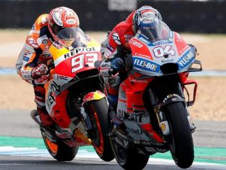 Dovizioso, davant de Márquez en la cursa de Tailàndia