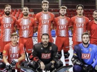 El Citylift Girona, en el partit de l'OK Lliga que va jugar a Igualada