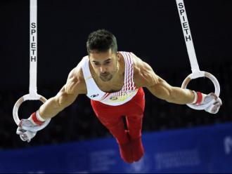 Rubèn López és un gimnasta molt complet, però els seus millors exercicis són les anelles i les paral·leles