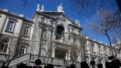 Imatge d'arxiu de la façana del Tribunal Suprem