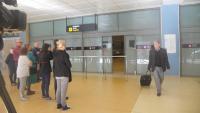 L'aeroport de Girona experimenta una gran inactivitat durant la temporada d'hivern
