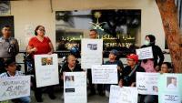 Periodistes indonesis participen en un acte de protesta per la mort de Khashoggi al davant de l'ambaixada saudita a Jakarta