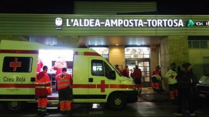 La Creu Roja de Tarragona ha atès les persones que han quedat aturades al tren