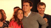Carolina Punset i el líder de Ciutadans, Albert Rivera, el 2015, en una imatge d'arxiu