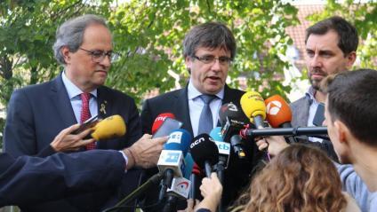 El Consell de la República es presentarà oficialment el 30 d'octubre al Palau de la Generalitat