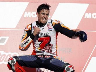 Márquez, al podi de la cursa japonesa