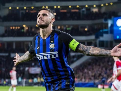 Capità de l'Inter. Amb 25 anys, Icardi podrà complir dimecres el somni que han tingut tots els jugadors que han passat pel planter blaugrana: jugar al Camp Nou. Ho farà, però, amb la samarreta de l'Inter.