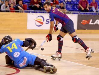El toc subtil amb què Pau Bargalló va enganyar totalment el porter del Follonica Menichetti i va fer l'1-0