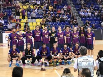 El Barça ofereix els tres primers títols a l'afició