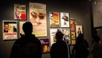 Cartells dels films de Kubrick en l'expo del CCCB