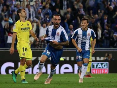 Sergi Darder celebra el gol del triomf contra el Vila-real