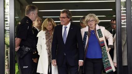 Ortega, Mas i Rigau, en el Tribunal de Comptes l'octubre passat