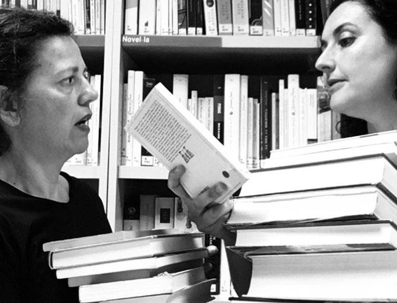 Imatge de Cristina Cervià i Meritxell Yanes.