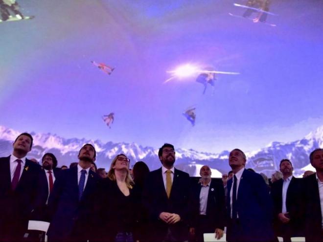 La presentació del projecte olímpic per als Jocs de 2030