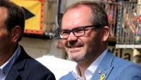 El vicepresident del Parlament, Josep Costa, de JxCat