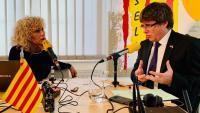 Puigdemont proposa ser el número dos de Junqueras en una llista unitària a Europa