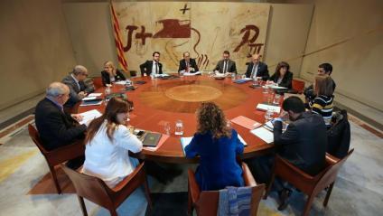 Reunió del consell executiu d'aquest dimarts