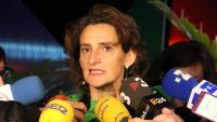 La ministra per a la Transició Ecològica, Teresa Ribera